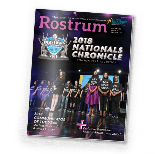 Rostrum Volume 92 Issue 5 2018 National Chronicles