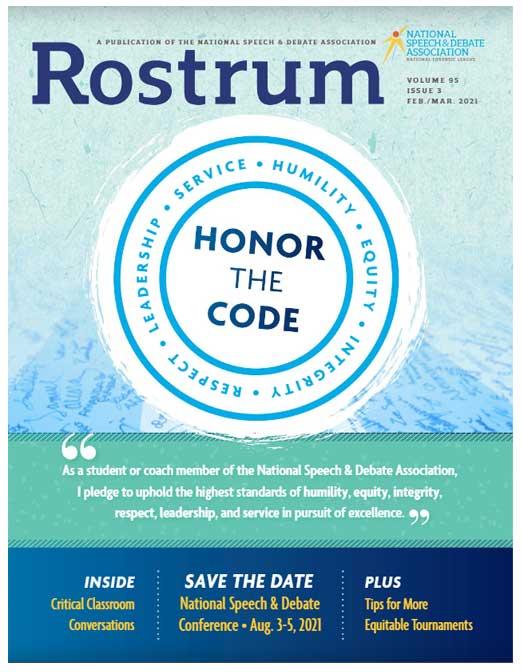 Rostrum: Volume 95, Issue 3 Feb/Mar 2021