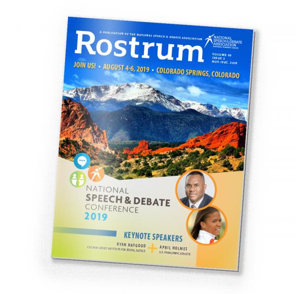 November 2018 Rostrum Magazine