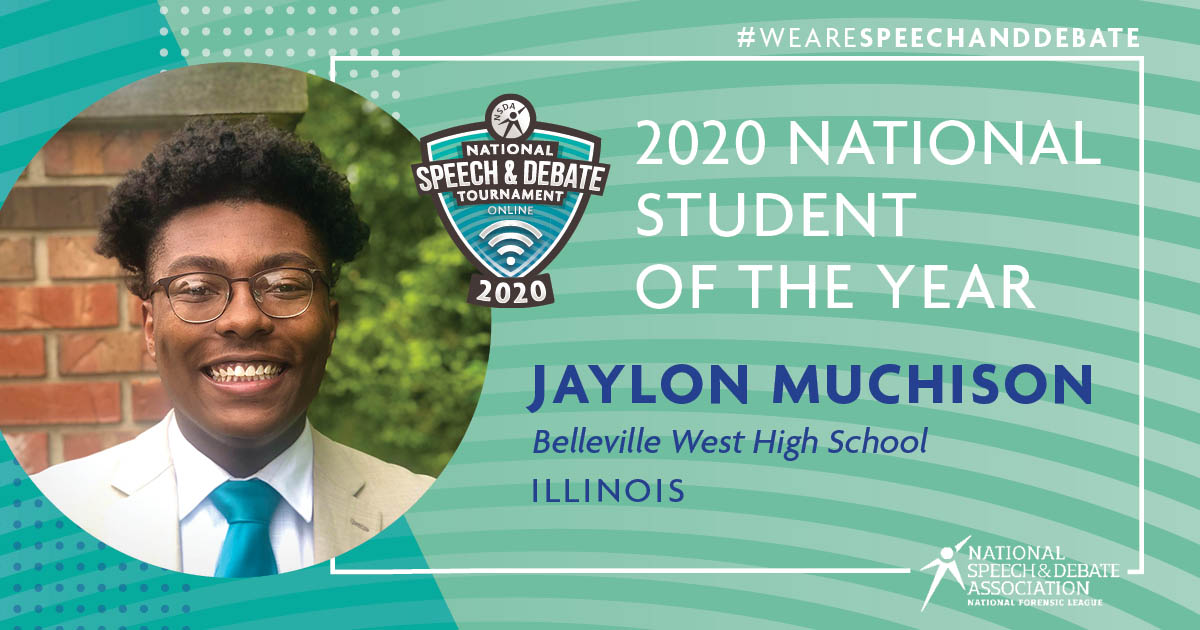 2020 Student of the Year - Jaylon Muchison