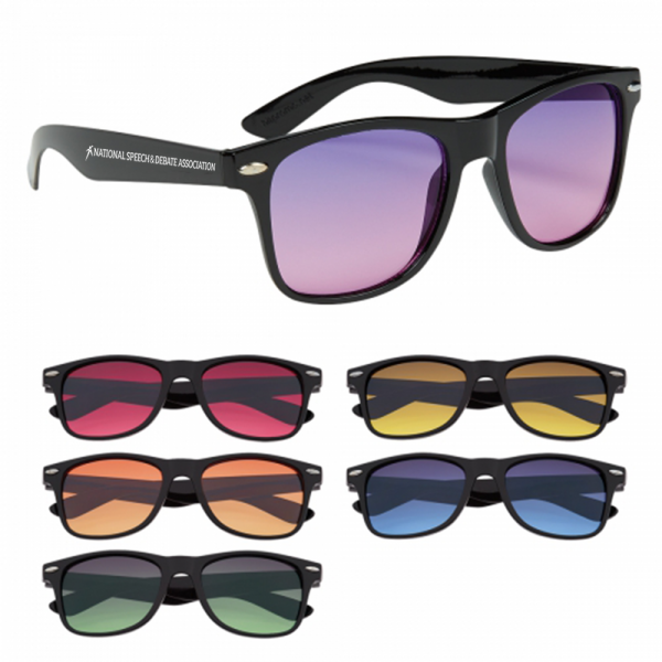Sunglasses with National Speech and Debate Association