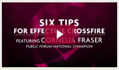 Six Tips for Effective Crossfire