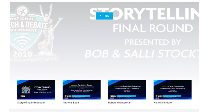 Storytelling Final Rounds