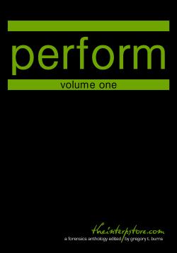 Perform – Volume One