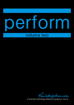 Perform – Volume Two