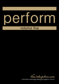 Perform – Volume Five