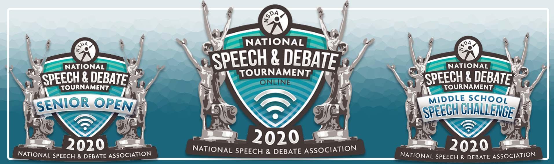 National Speech and Debate 2020 Online Tournament